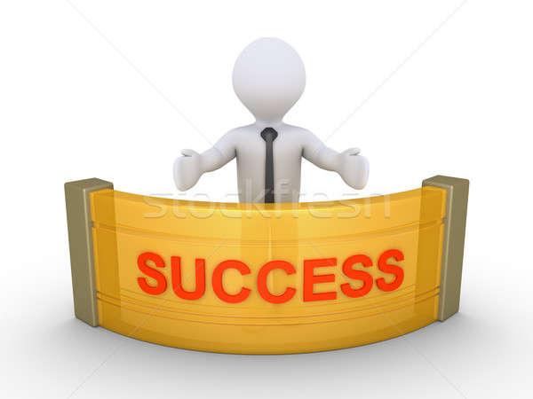Businessman is providing success Stock photo © 6kor3dos