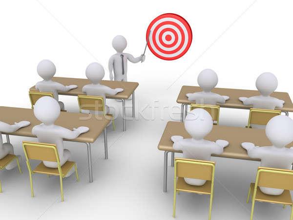 Profesyonel eğitim hedef işadamı Öğrenciler Stok fotoğraf © 6kor3dos