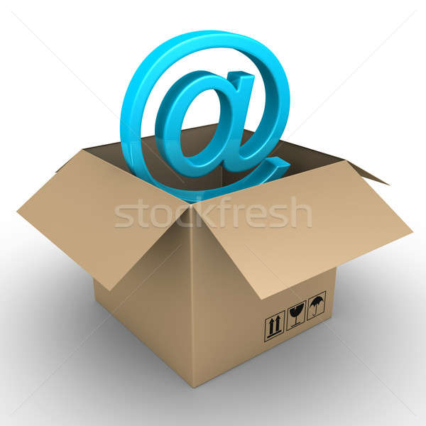 New e-mail just arrived Stock photo © 6kor3dos