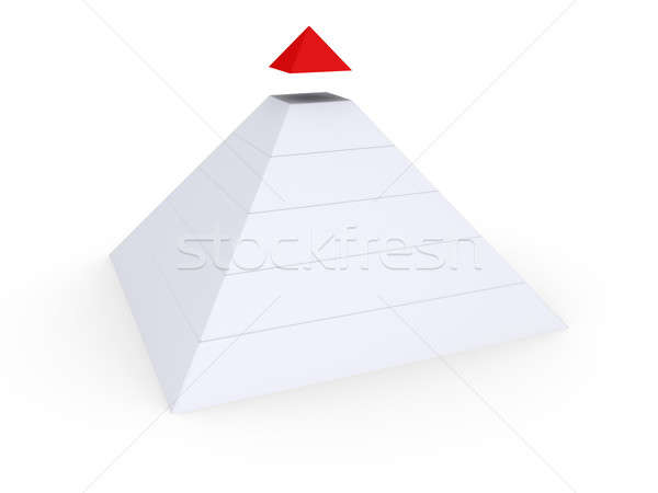 Completing the Pyramid Stock photo © 6kor3dos