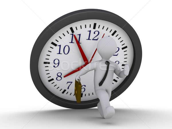 Avoid the falling clock deadline Stock photo © 6kor3dos