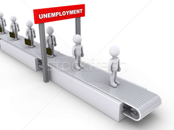 Inevitable unemployment Stock photo © 6kor3dos