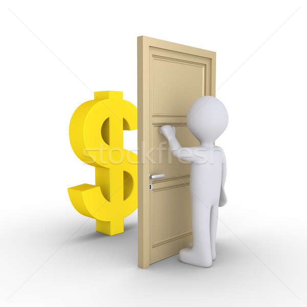 Person wants to earn money Stock photo © 6kor3dos