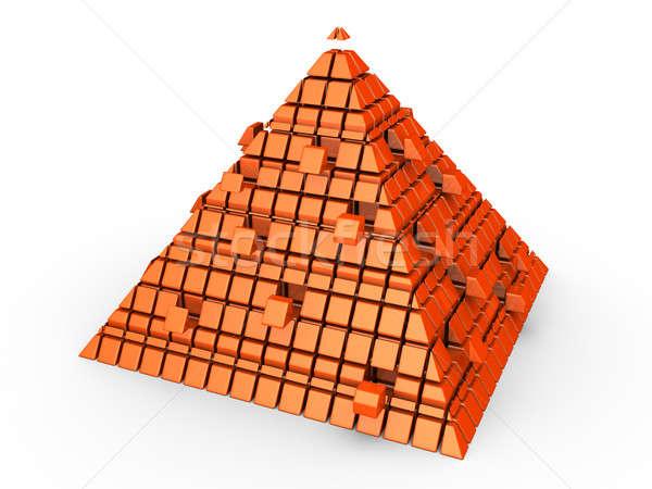Futuristic pyramid Stock photo © 6kor3dos