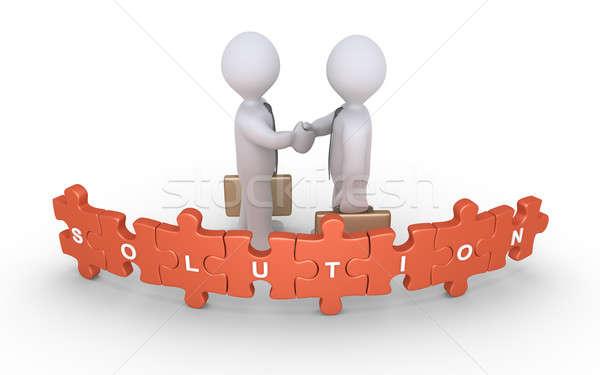 Businessmen agreement for solution Stock photo © 6kor3dos