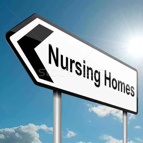 Nursing home concept. Stock photo © 72soul
