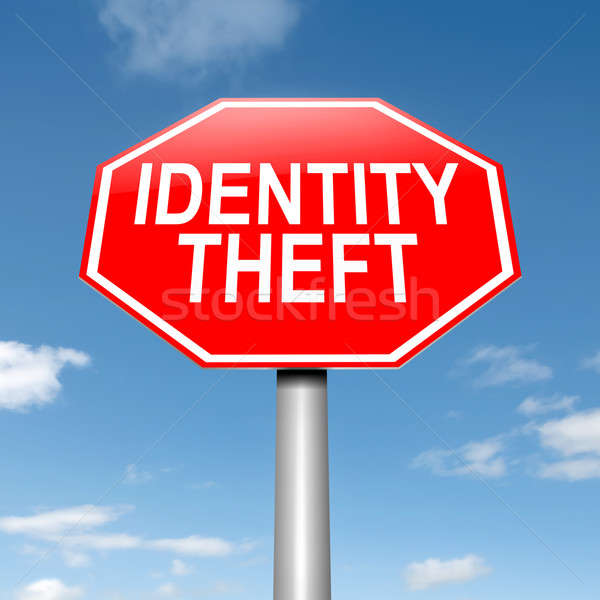 Identity theft concept. Stock photo © 72soul