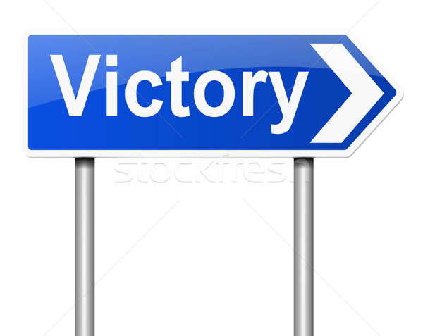 Victory concept. Stock photo © 72soul
