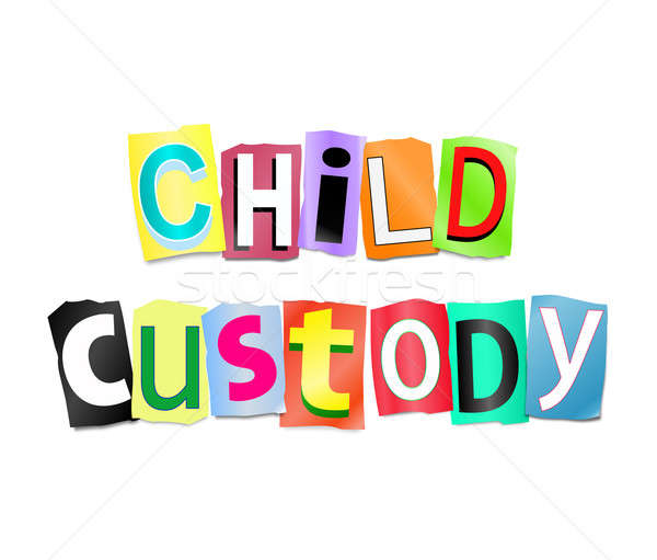 Child custody concept. Stock photo © 72soul