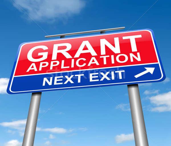 Grants application. Stock photo © 72soul