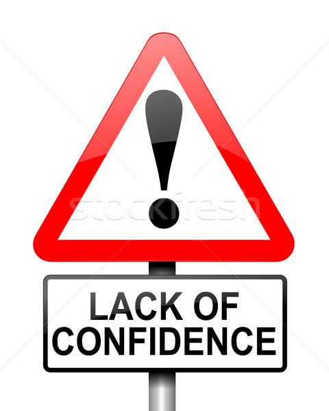 Confidence concept. Stock photo © 72soul