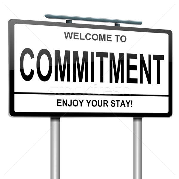 Commitment concept. Stock photo © 72soul