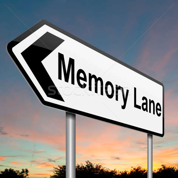 Memory lane concept. Stock photo © 72soul