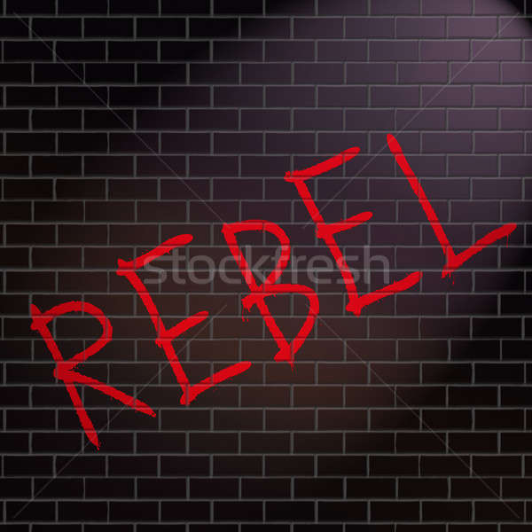 Rebel concept. Stock photo © 72soul