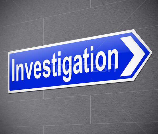 Investigation concept. Stock photo © 72soul