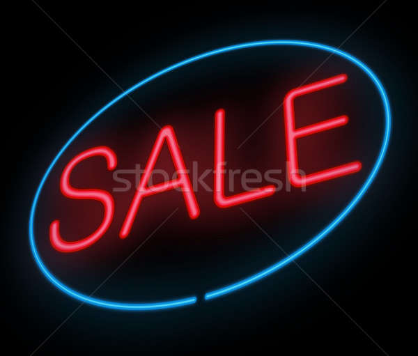 Sale sign. Stock photo © 72soul