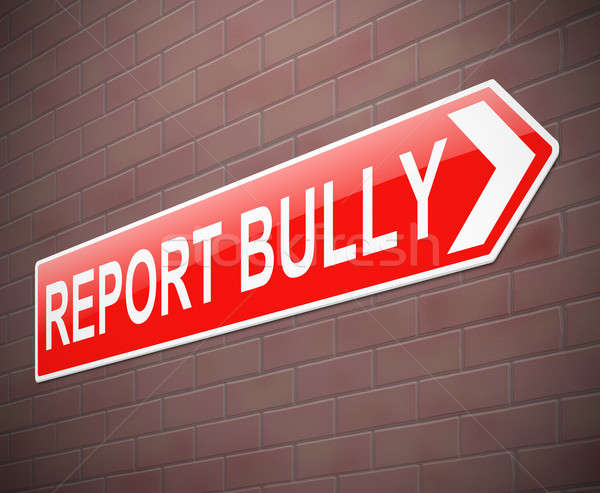 Bullying sign. Stock photo © 72soul