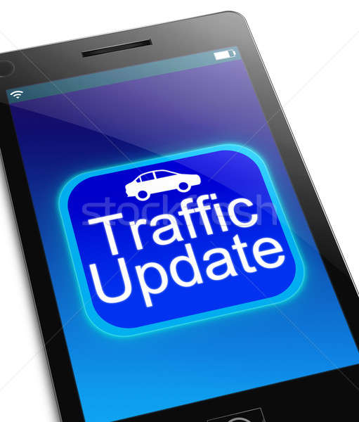 Traffic update concept. Stock photo © 72soul