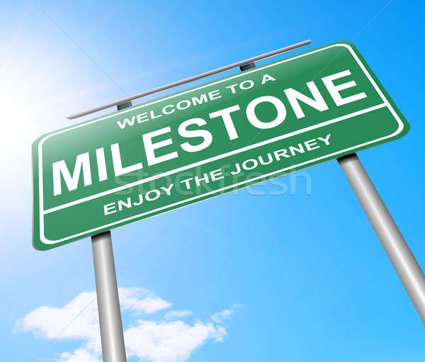 Milestone concept. Stock photo © 72soul