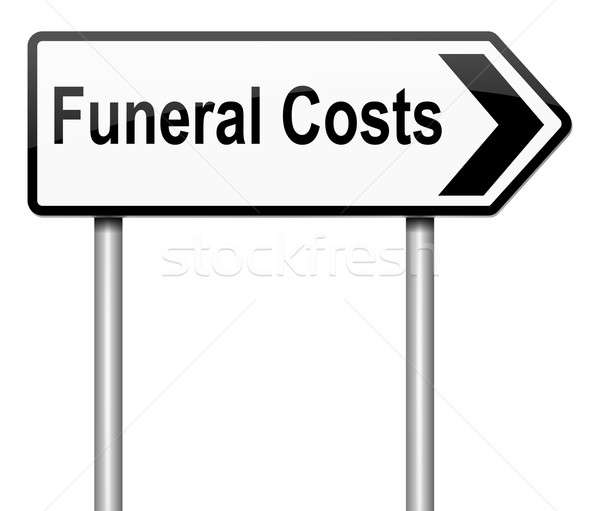 Funeral costs concept. Stock photo © 72soul