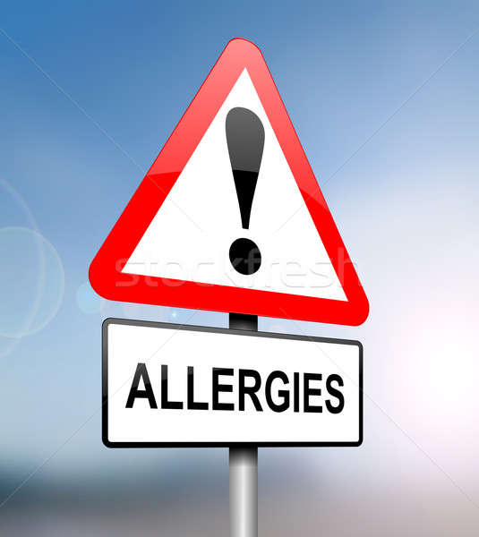 Allergies warning. Stock photo © 72soul