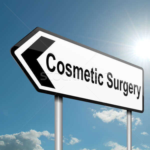 Cosmetic surgery concept. Stock photo © 72soul