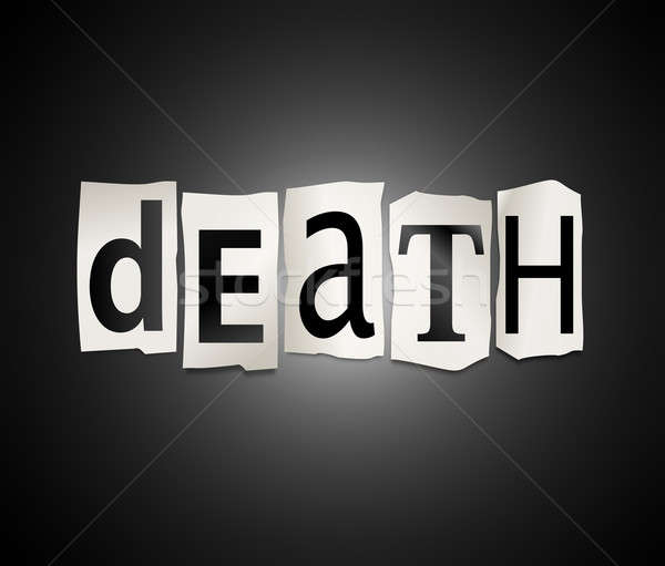 Death concept. Stock photo © 72soul