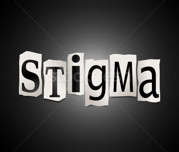 Stigma concept. Stock photo © 72soul