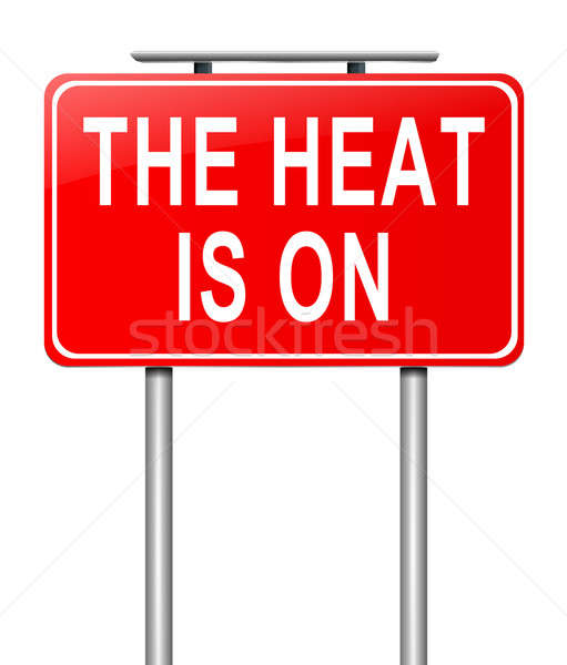 The heat is on. Stock photo © 72soul