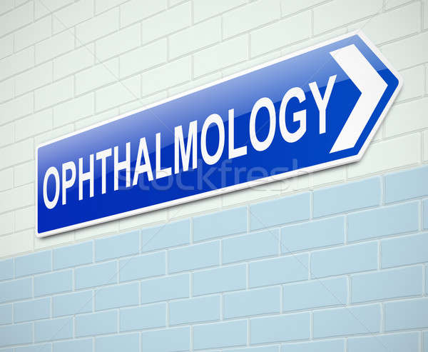 Opthalmology concept. Stock photo © 72soul
