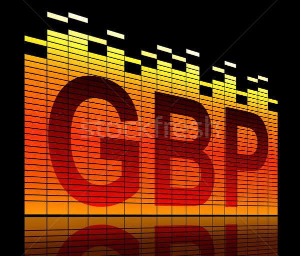 GBP concept. Stock photo © 72soul