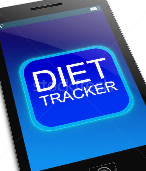 Diet Tracker concept. Stock photo © 72soul