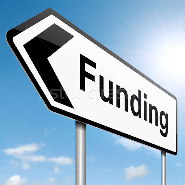Funding concept. Stock photo © 72soul
