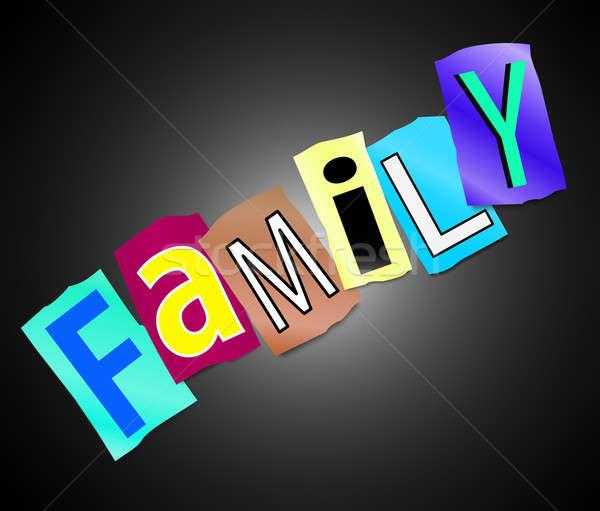 Family concept. Stock photo © 72soul