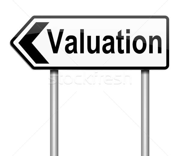 Valuation concept. Stock photo © 72soul