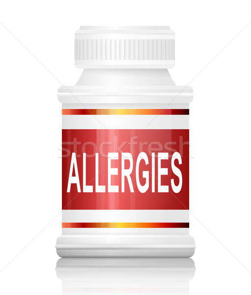 Allergies concept. Stock photo © 72soul