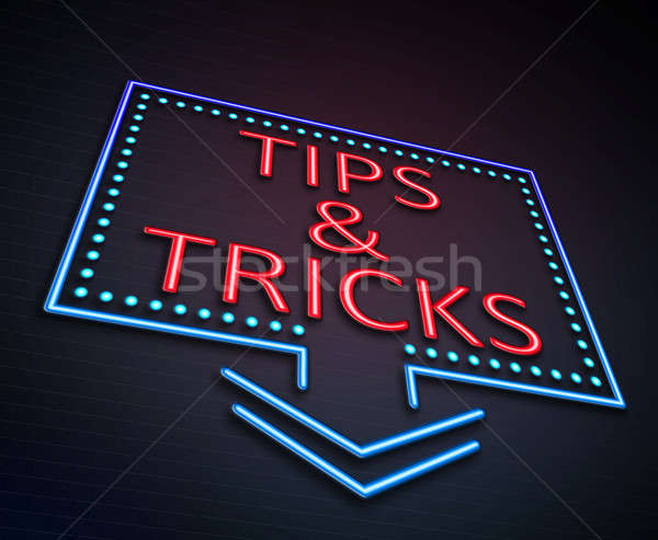 Tips and tricks concept. Stock photo © 72soul