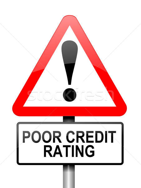 Poor credit rating. Stock photo © 72soul