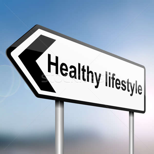 Healthy lifestyle. Stock photo © 72soul