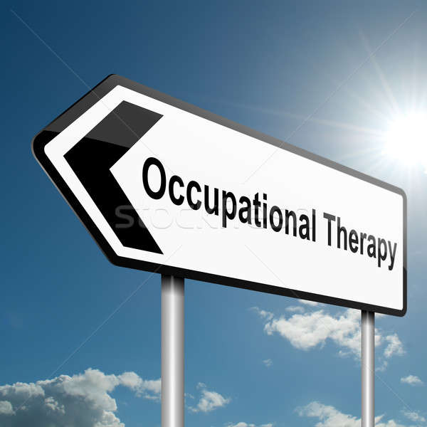 Occupational Therapy concept. Stock photo © 72soul
