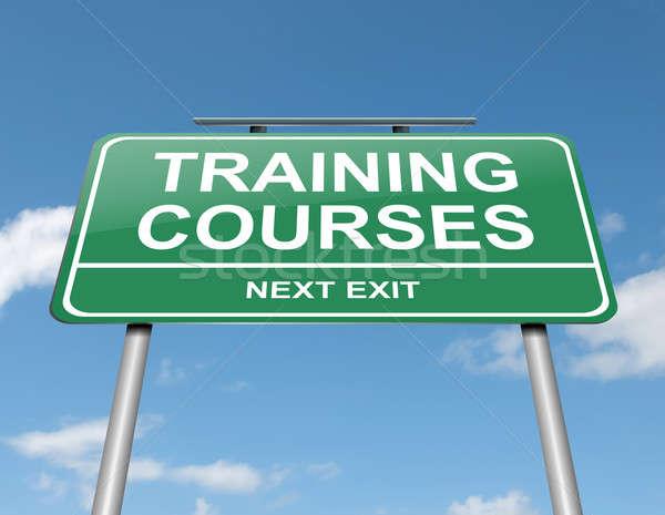 Training courses concept. Stock photo © 72soul