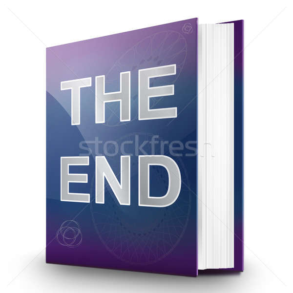 The end. Stock photo © 72soul
