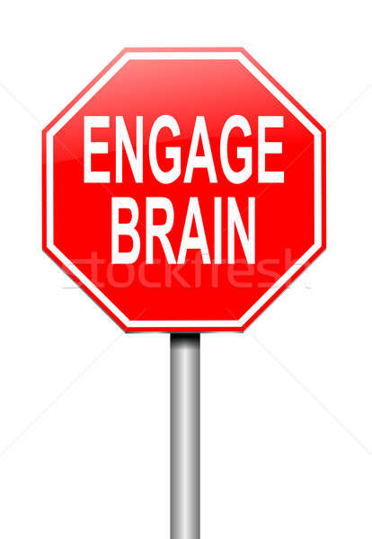 Engage brain concept. Stock photo © 72soul