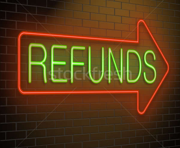 Refund concept. Stock photo © 72soul