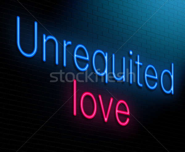 unrequited love concept. Stock photo © 72soul