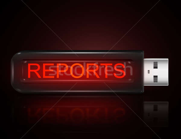Reports concept. Stock photo © 72soul