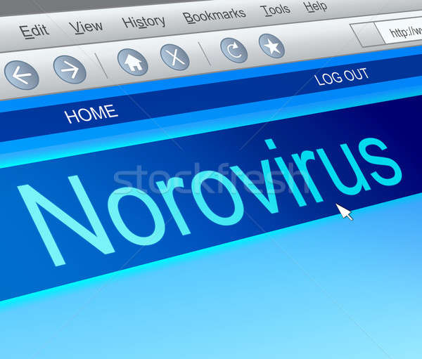 Norovirus concept. Stock photo © 72soul