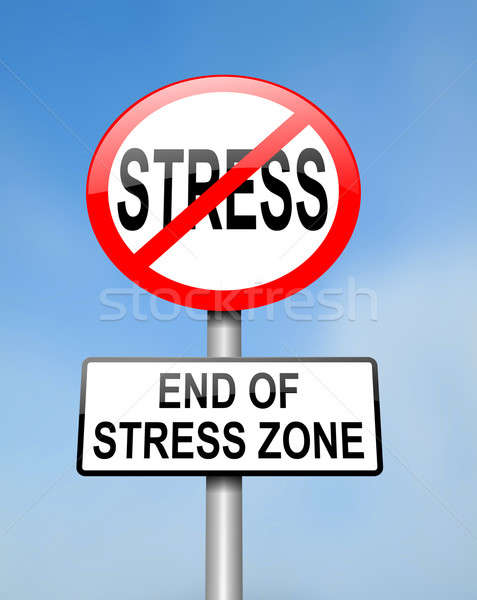 End of stress. Stock photo © 72soul