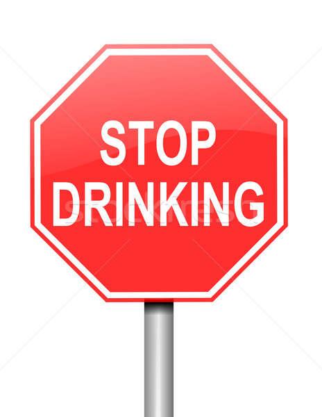 Alcoholism concept. Stock photo © 72soul