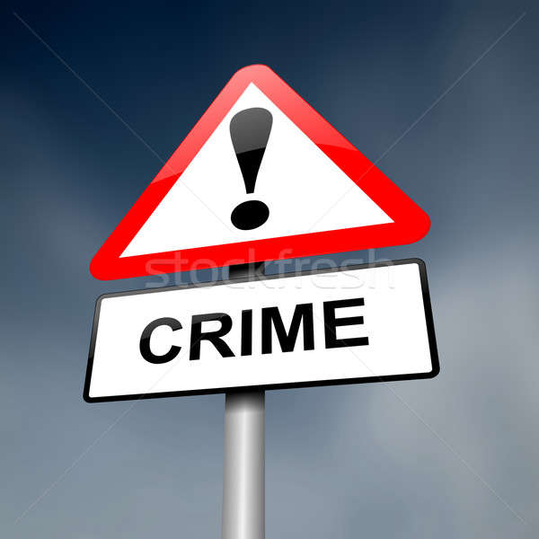 Crime awareness. Stock photo © 72soul